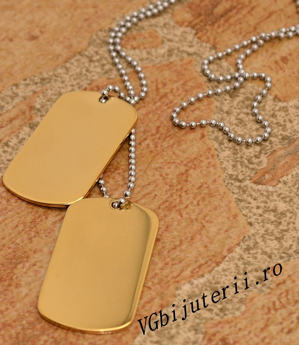 Lant inox Army(Dog Tag) cod 1198
