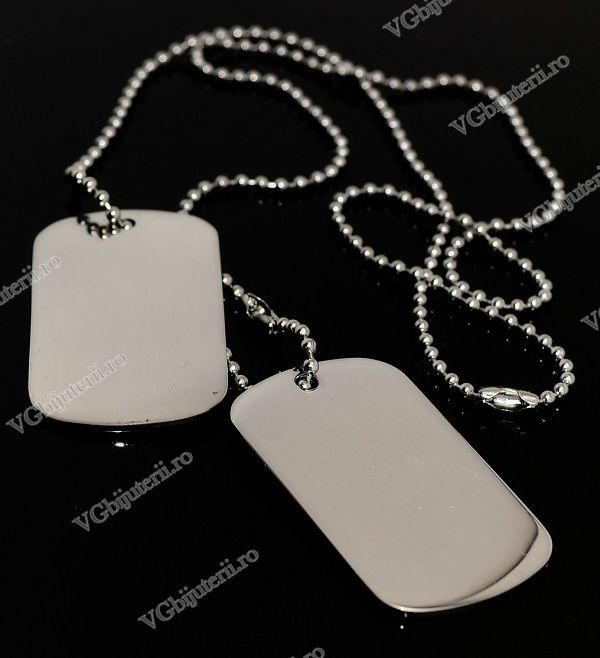 Lant inox Army(Dog Tag) cod 1051